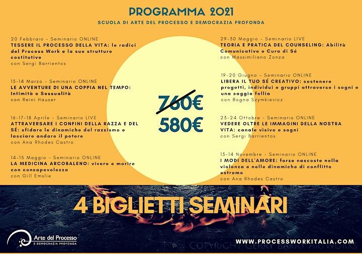 Immagine 4 BIGLIETTI SEMINARI // 4 TICKETS SEMINARS