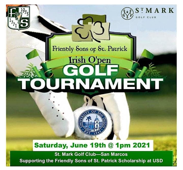 Irish O'pen Golf Tournament image