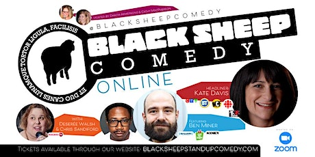 Black Sheep Comedy Online Featuring Kate Davis & Friends tickets
