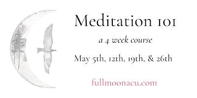 Meditation with Martha – a 4 week course