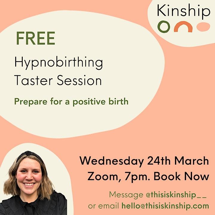 FREE Online Hypnobirthing Taster Session image