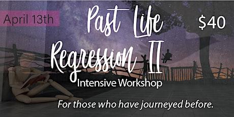 Past Life Regression II Workshop bilhetes