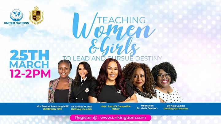 Teaching Women To Lead And Pursue Destiny image