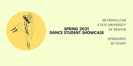 MSU Denver's Spring 2021 Dance Student Showcase tickets