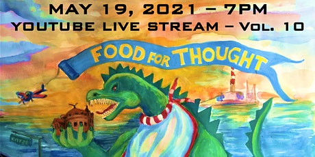 "Virtual Bridgeport PechaKucha - Vol. 10 ""Food For Thought"" Tickets"