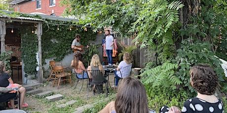 Third Thursdays Backyard Concert Series tickets