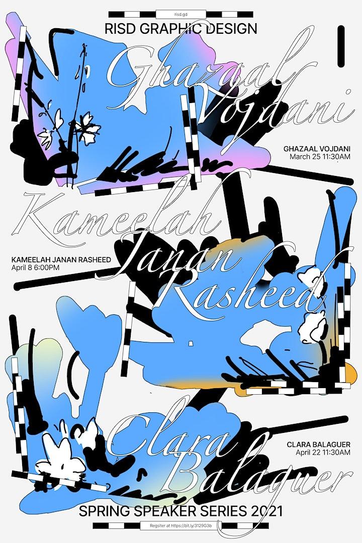 Spring Speaker Series: Kameelah Janan Rasheed image