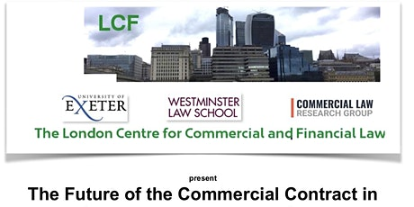 6th Annual Conference on The Future of the Commercial Contract tickets