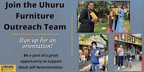 Uhuru Furniture Outreach Team Orientation tickets