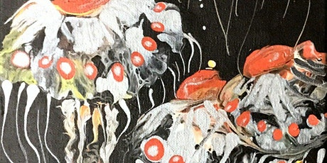 BEYOND ACRYLIC POURING (FLUID ART)w/Linda-Saturday, July 24, 9:00-noon tickets