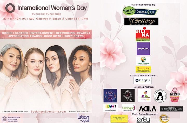 International Women Day By Urban Vegas image