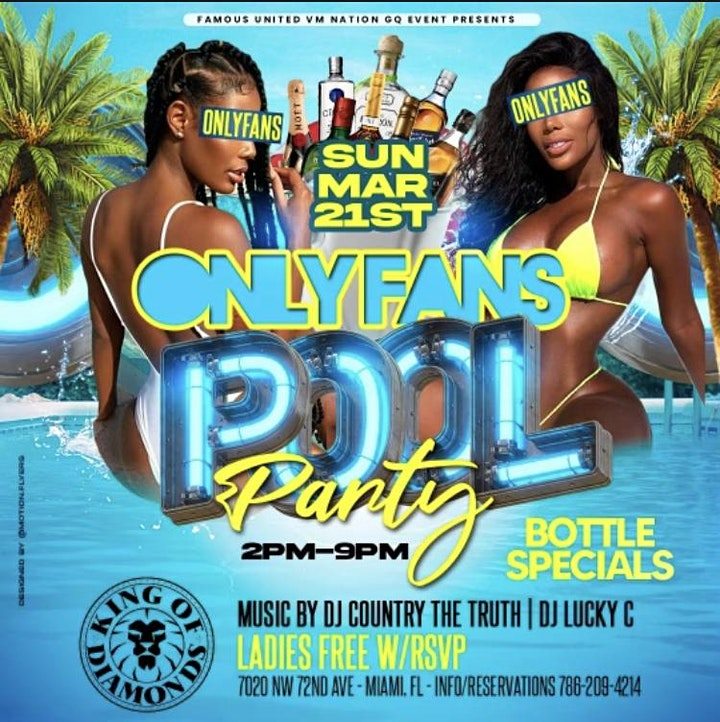 CASH OUT SUNDAYS ONLY FANS POOL PARTY AT KOD MIAMI -SPRING BREAK 2021 image