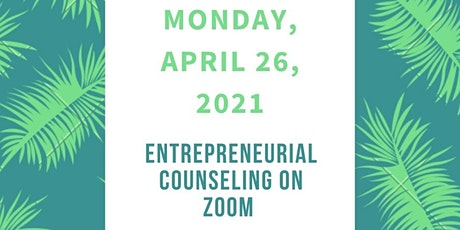 Entrepreneurial Counseling on Zoom tickets