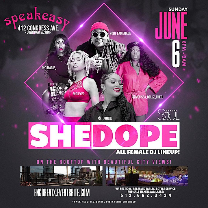 She Dope ~ All Female DJ Lineup | 6.6 image