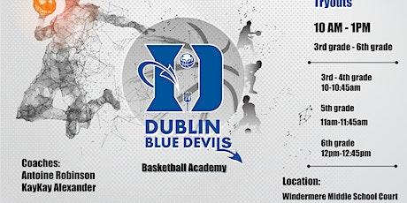 Dublin Blue Devils Basketball Tryouts tickets