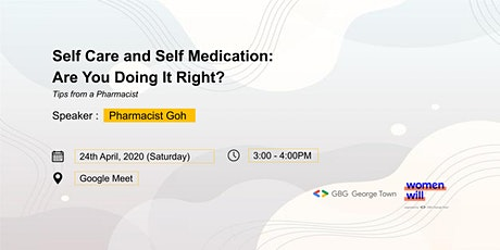 Self Care and Self Medication: Are You Doing It Right? tickets