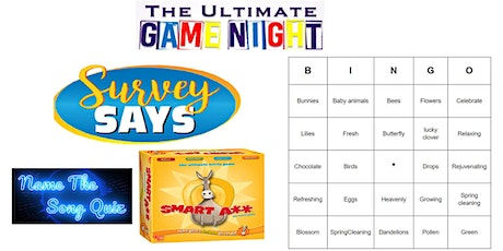 Ultimate Game Night  Live host via Zoom (EB) Tickets