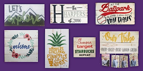 Spring Sign Painting at Springfield Manor 4/24 tickets