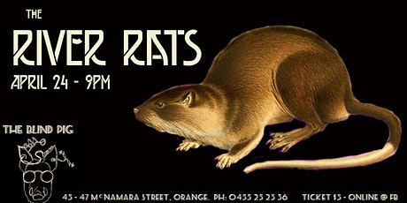 the River Rats - Live & Local @ The Blind Pig Orange tickets