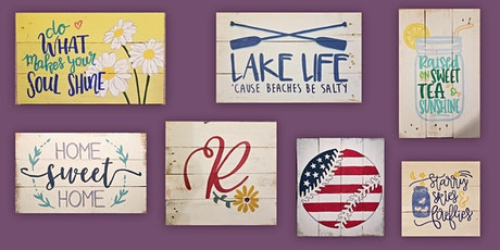 Spring Sign Painting at Springfield Manor 5/23 tickets