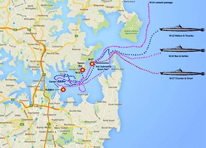 Sydney Under Japanese Attack 1942: Anniversary Cruise on the Harbour image