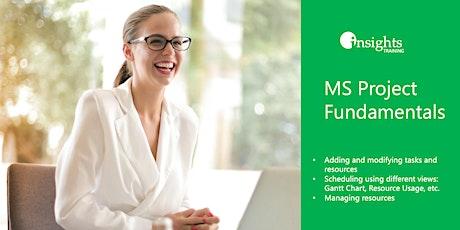 Fundamentals of MS Project biglietti