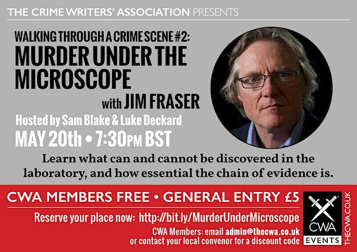 Murder Under the Microscope with Professor Jim Fraser image