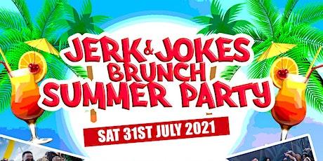 Jerk and Jokes Brunch Summer Party tickets