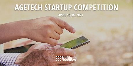 AgeTech Startup Competition billets