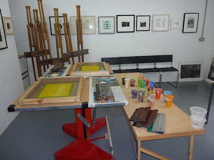 Silkscreen workshop image