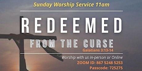 Sunday Worship Church Service in Preston Lancs tickets