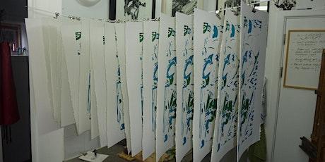 Silkscreen workshop tickets