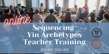 25hr ONLINE YIN VARIATIONS  TEACHER TRAINING with JOE BARNETT tickets