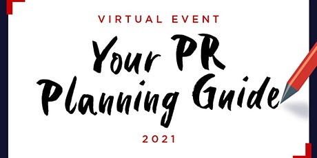 Your PR Planning Guide 2021 tickets