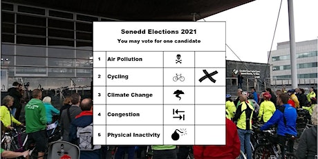 Cardiff Cycle City Senedd Election Hustings tickets
