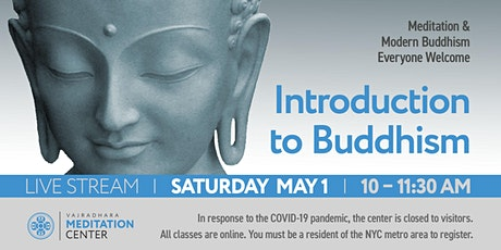 Introduction to Buddhism 05/01/2021 tickets