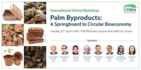 Palm Byproducts: A Springboard to Circular Bioeconomy Workshop tickets