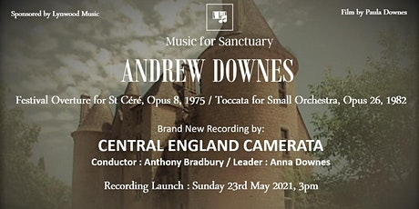 Andrew Downes - RECORDING LAUNCH tickets