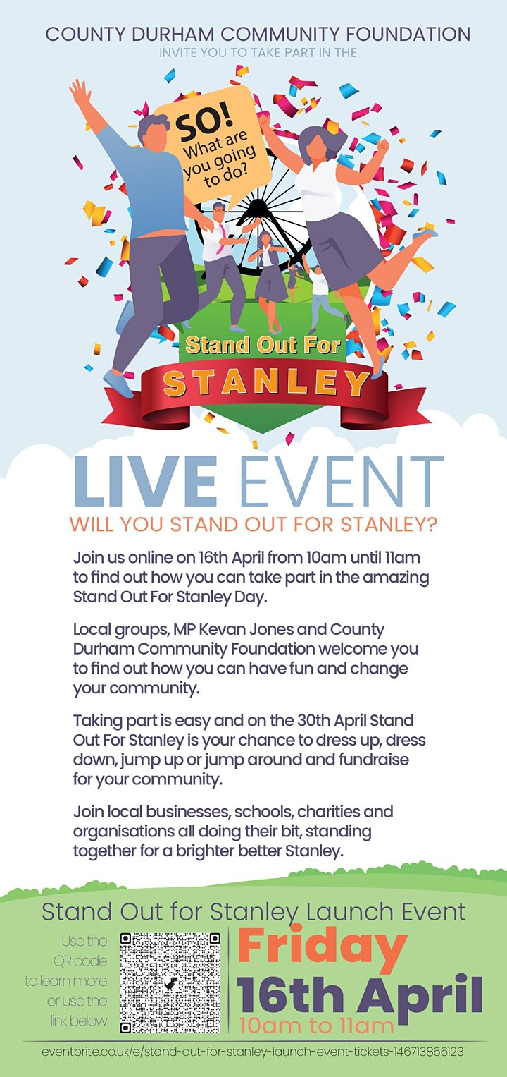 Stand Out For Stanley Launch Event image
