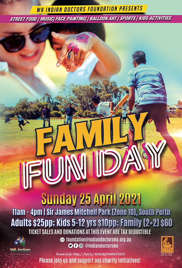FAMILY FUNDAY - ANZAC DAY FAMILY EVENT image