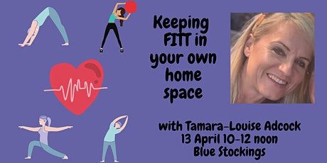 Blue Stockings: Keeping  FITT in your own home space tickets
