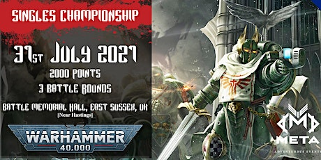 Meta Events Singles Championship 2021 - Warhammer 40k Event tickets