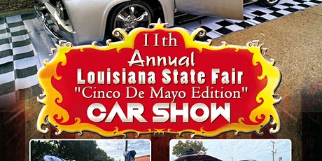 11th Annual Louisiana State Fair Car Show tickets