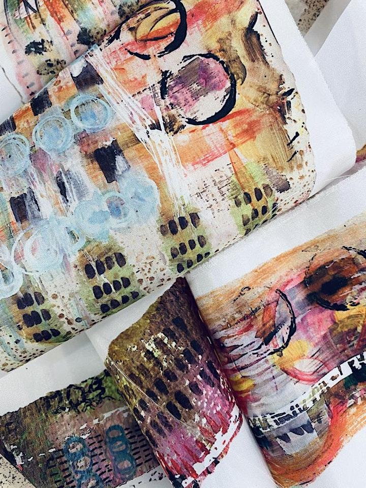 Parchment, Paint and print image