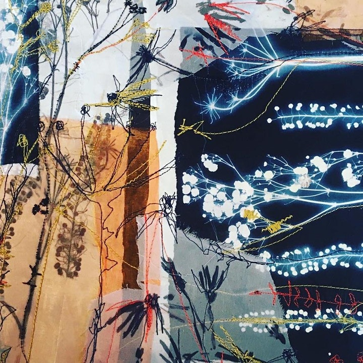 Paper cloth, Plants & Print image