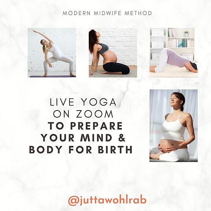 Pregnancy Yoga // Schwangerschaftsyoga  TUE 10:30am (ONLINE/LIVE): Bild