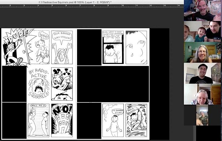 Between the Panels Comics Workshops - Summer Shorts image
