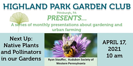 Highland Park Garden Club Presents... April tickets