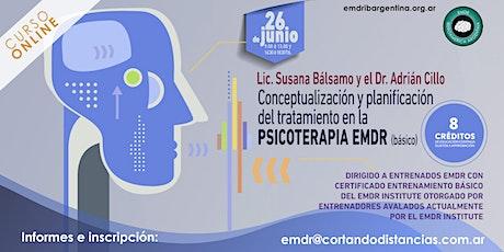 """""""Conceptualización y planificación del tratamiento en la Psicoterapia EMDR"""" entradas"""