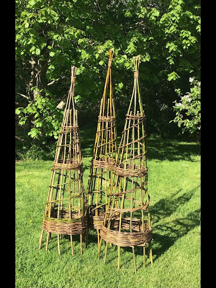 Willow Obelisk Workshop at The Italian Garden image